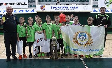 ФК «Єврошпон-Смига» переможець європейського турніру